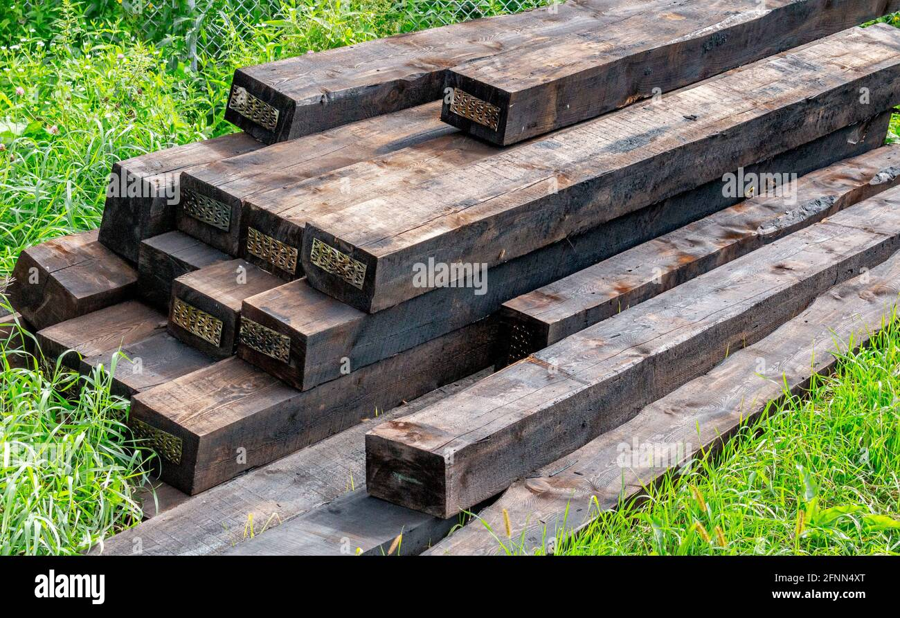 New Railway Sleepers High Resolution Stock Photography and Images ...
