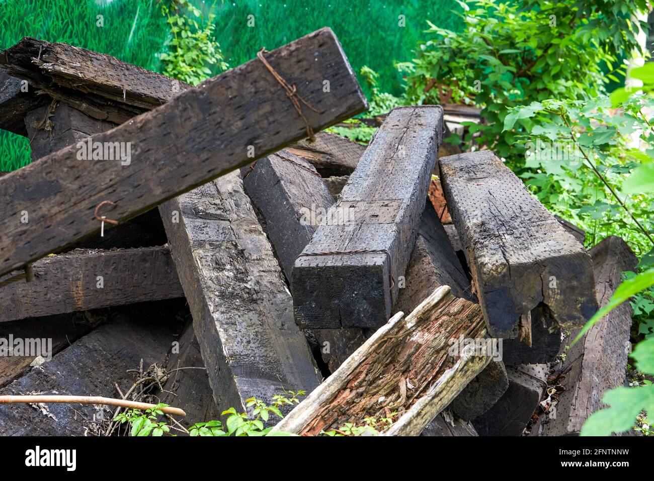 Re Used Sleepers High Resolution Stock Photography and Images   Alamy
