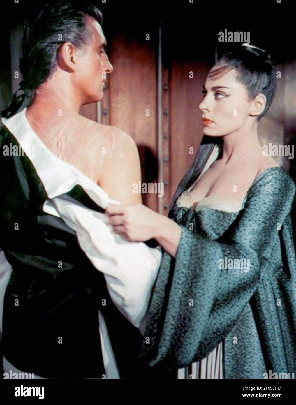 MOONFLEET 1956 MGM film with Viveca Lindfors and Stewart Granger Stock Photo