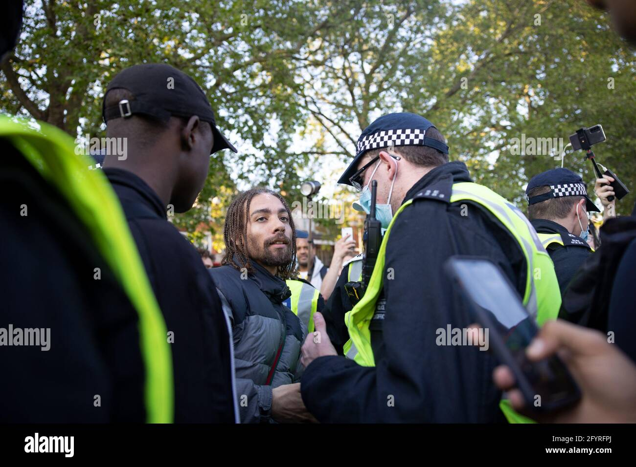 London, UK. 29th May, 2021. Unite For Freedom Protest, London, UK Credit: Yuen Ching Ng/Alamy Live News Stock Photo