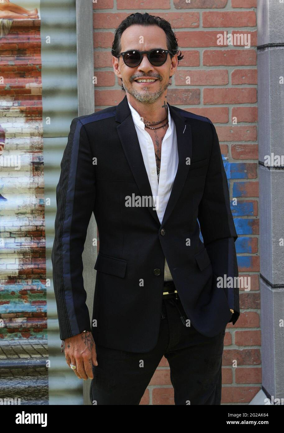 New York, NY, USA. 9th June, 2021. Marc Anthony at arrivals for IN THE HEIGHTS Premiere at 2021 Tribeca Festival Opening Night, United Palace Theatre in Washington Heights, New York, NY June 9, 2021. Credit: CJ Rivera/Everett Collection/Alamy Live News Stock Photo