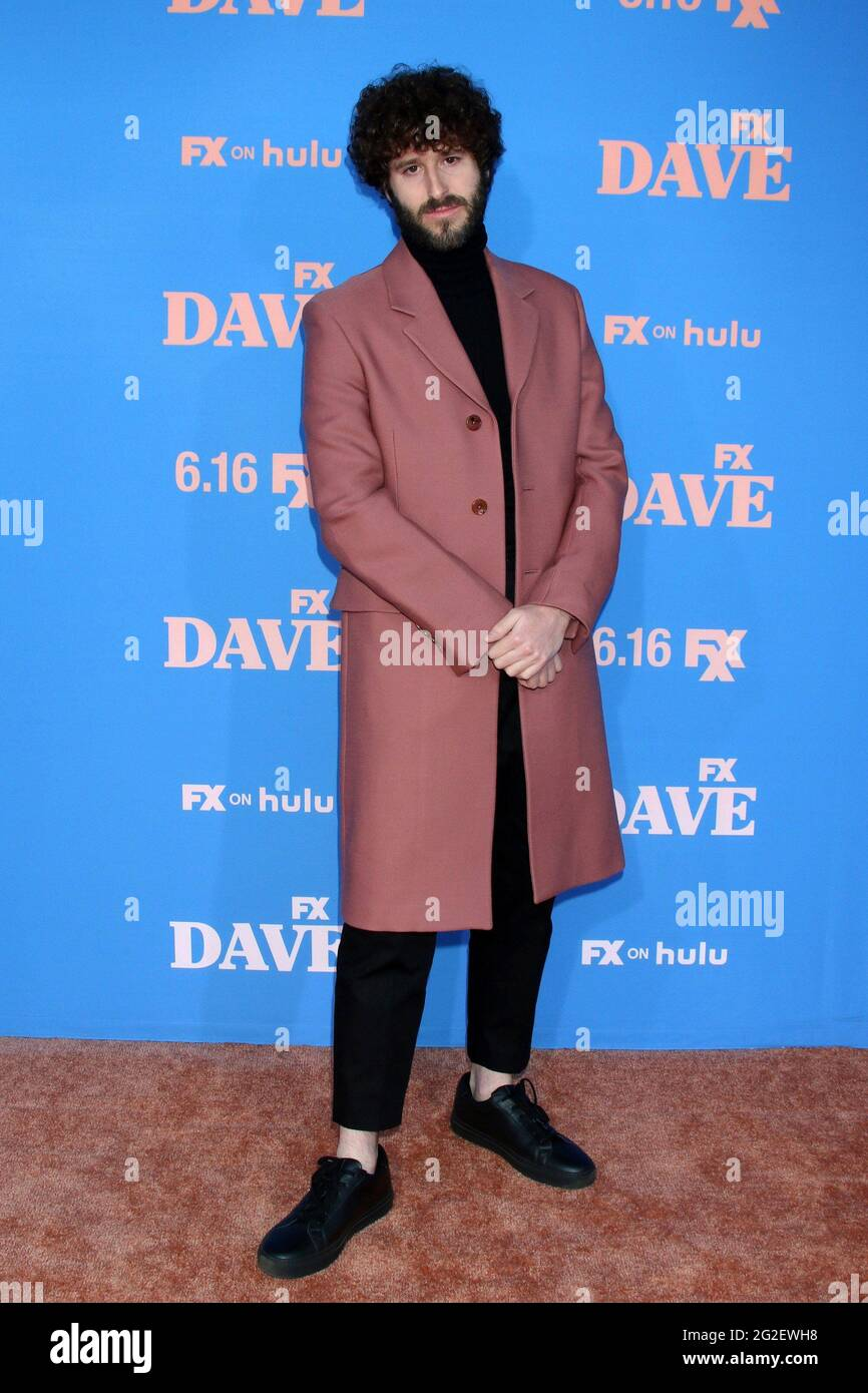 Los Angeles, CA. 10th June, 2021. Dave Burd at arrivals for DAVE Season 2 Premiere on FXX, The Greek Theater, Los Angeles, CA June 10, 2021. Credit: Priscilla Grant/Everett Collection/Alamy Live News Stock Photo