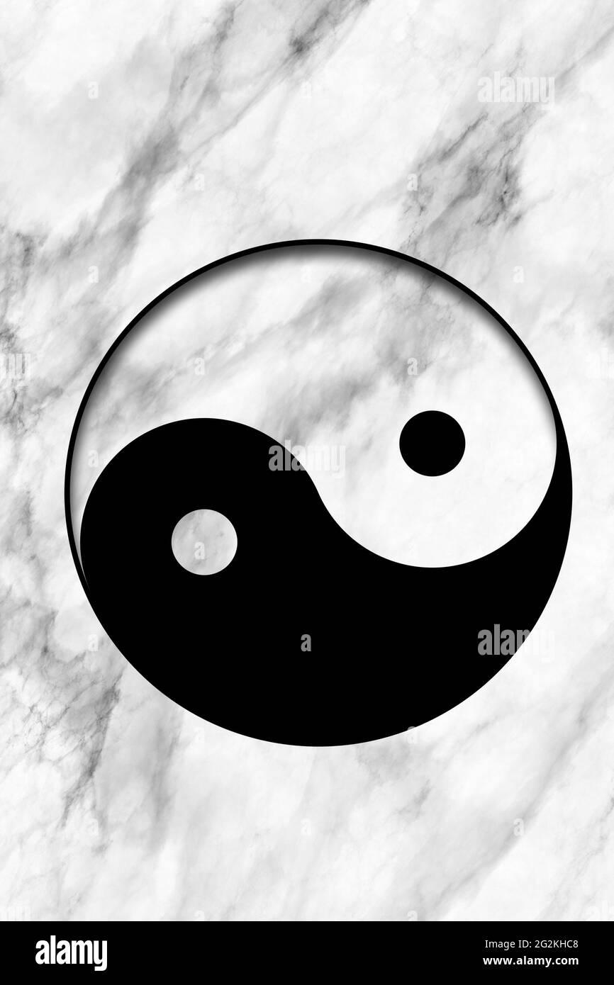 Symbol paste copy yang yin ☯ Yin