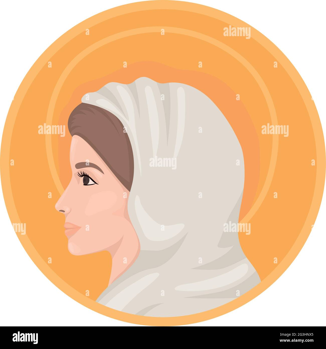 design of holy mary Stock Vector