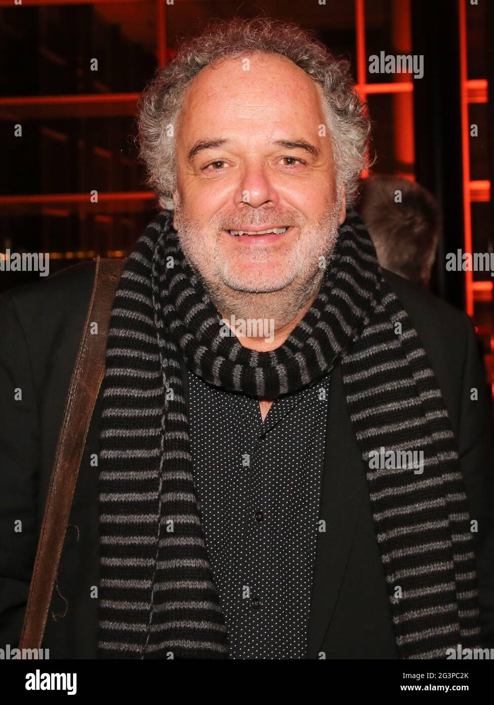 Peter Dreckmann MDR head of entertainment at 25th José Carreras Gala on December 12th, 2019 Leipzig Stock Photo