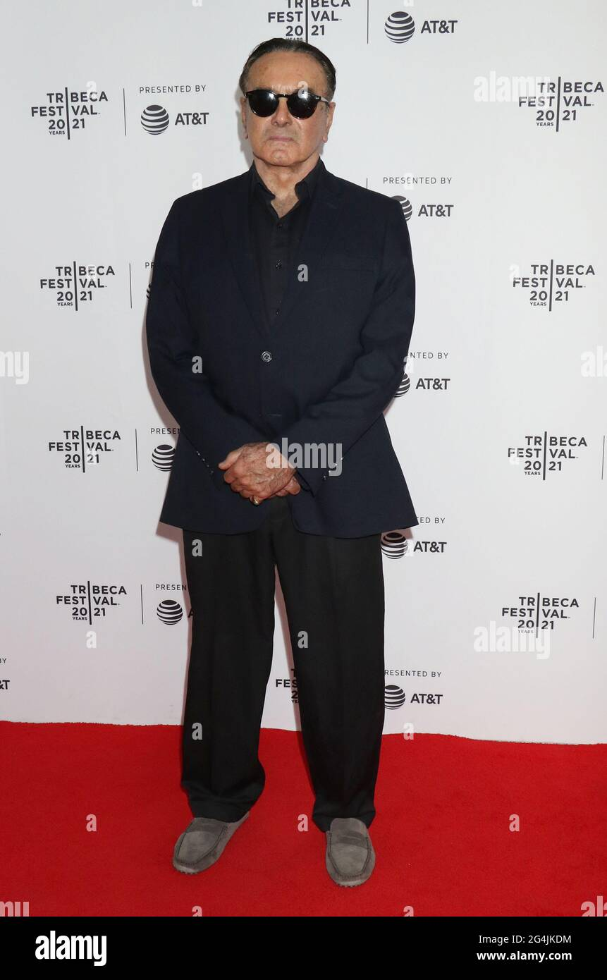 New York, NY, USA. 21st June, 2021. Dan Hedaya at the 2021 Tribeca Film Festival premiere of The God Committee at Brooklyn Commons Metrotech in New York City on June 20, 2021 Credit: Rw Media Punch/Alamy Live News Stock Photo