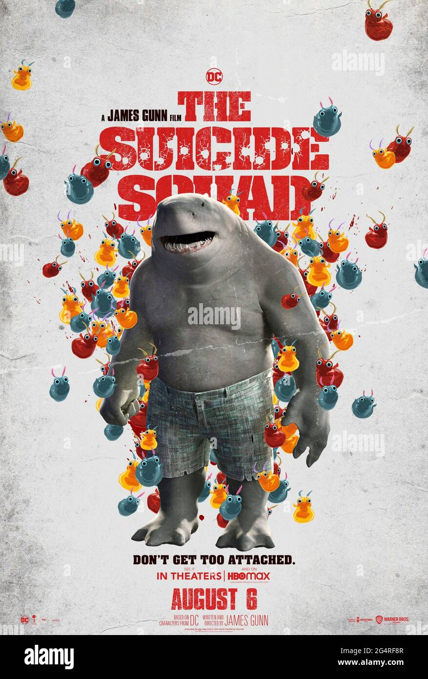The Suicide Squad 2021 Directed By James Gunn And Starring Sylvester Stallone As King Shark In Jamie Gunn S Take On A Group Of Convicts With Special Powers Sent To Take On A
