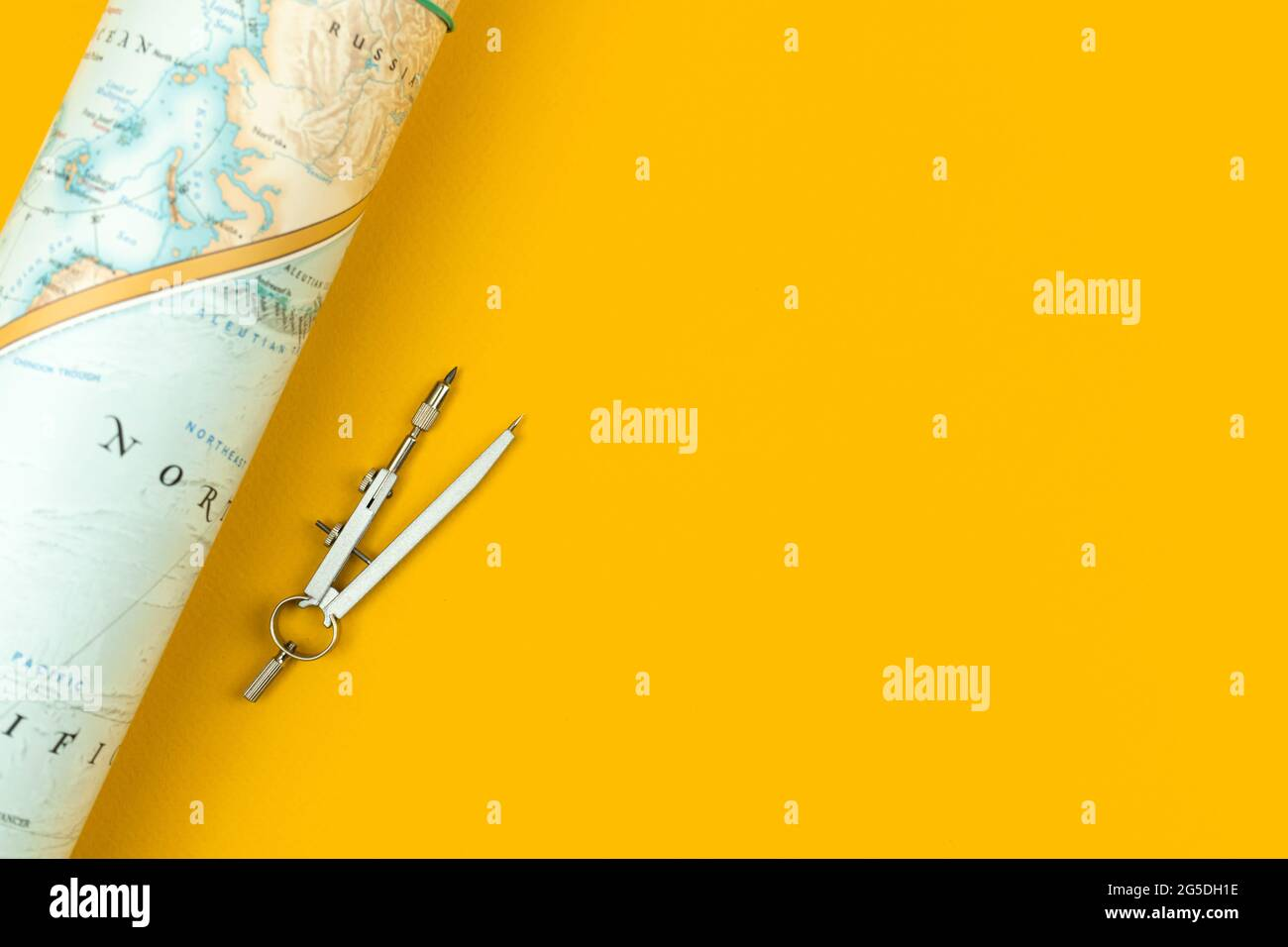 World Map Flat Desk High Resolution Stock Photography And Images Alamy