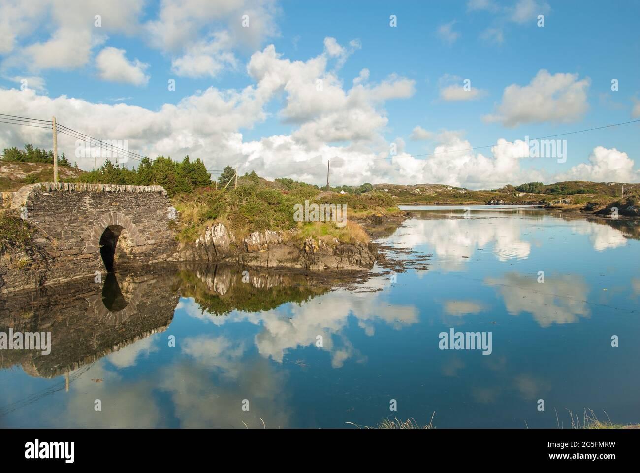 Kealfadda bridge west cork Stock Photo - Alamy