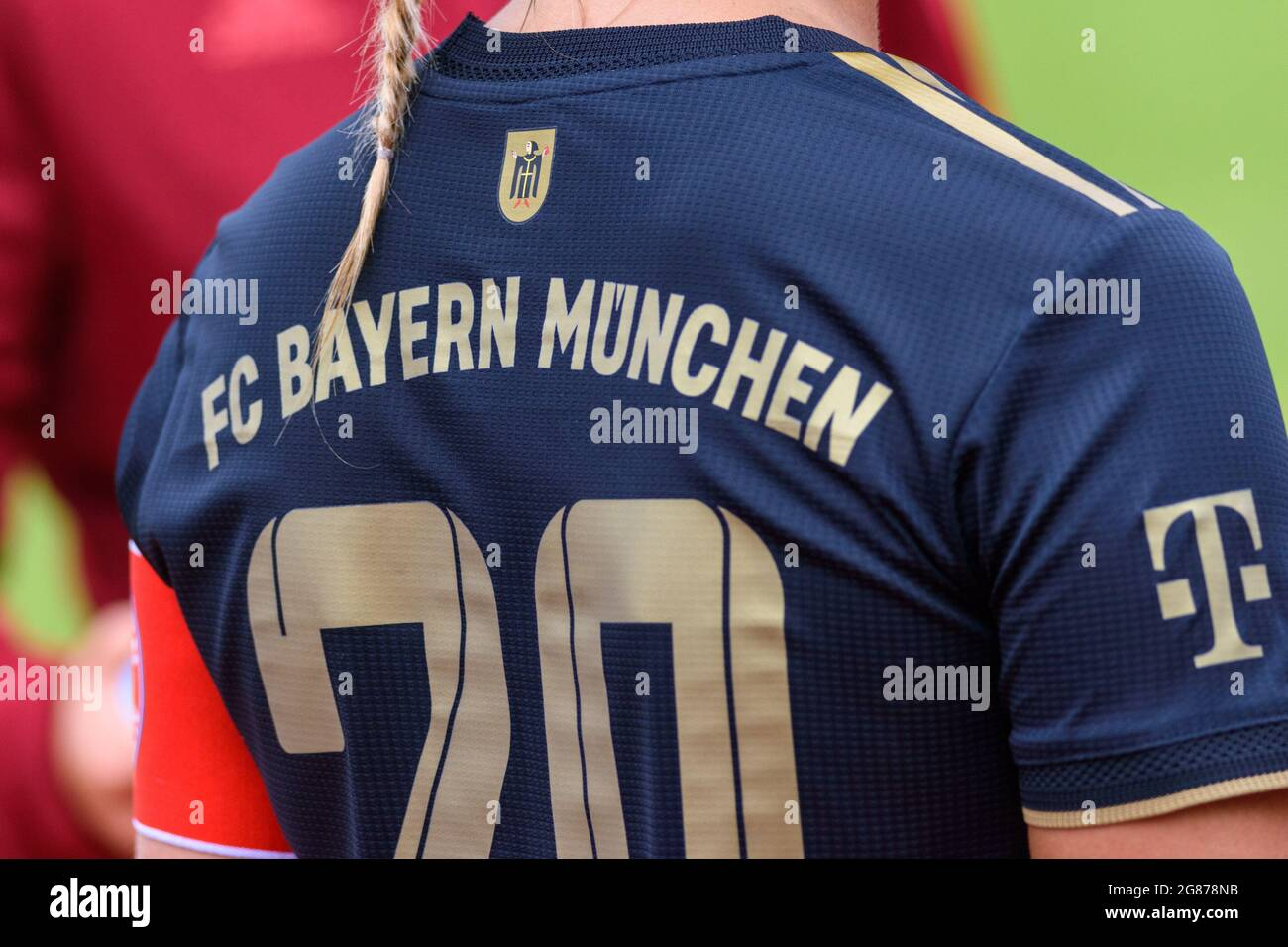 Fc Bayern Munich Shirt High Resolution Stock Photography and ...