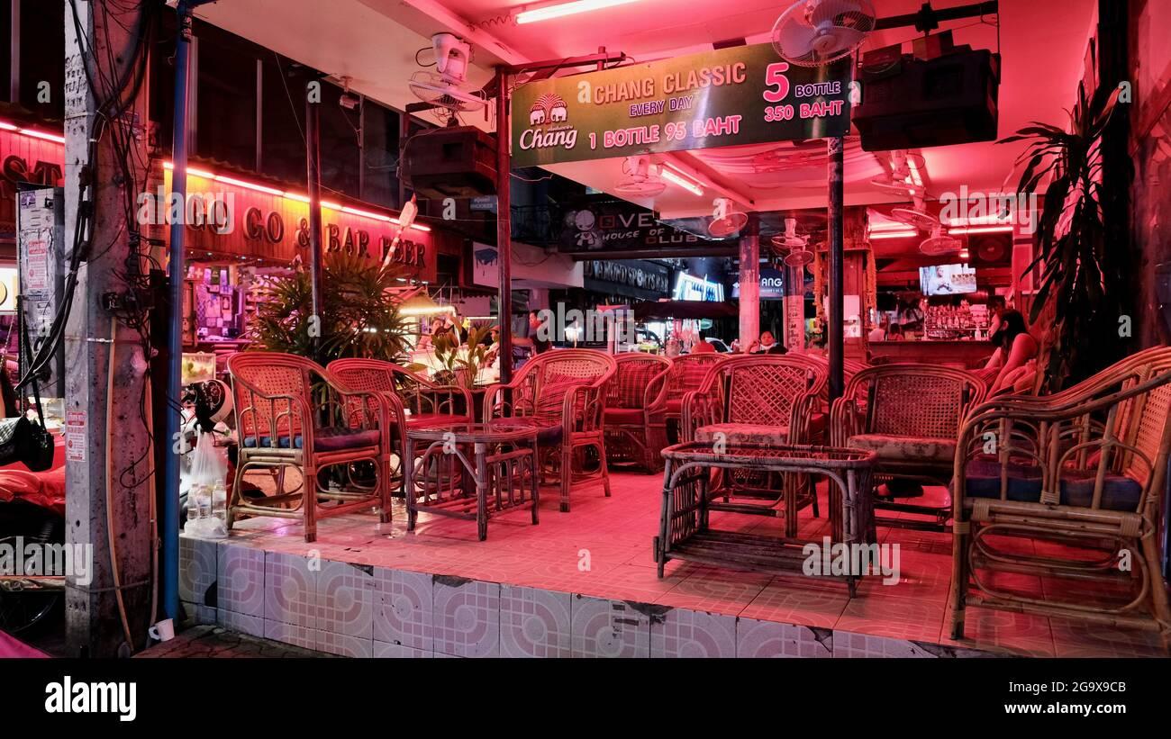 In thailand nightlife pattaya Pattaya's nightlife