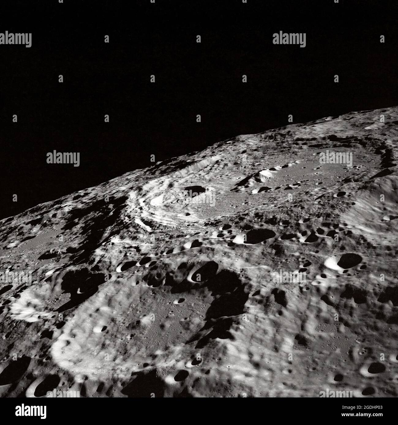 Lunar Surface Crater High Resolution Stock Photography and Images ...
