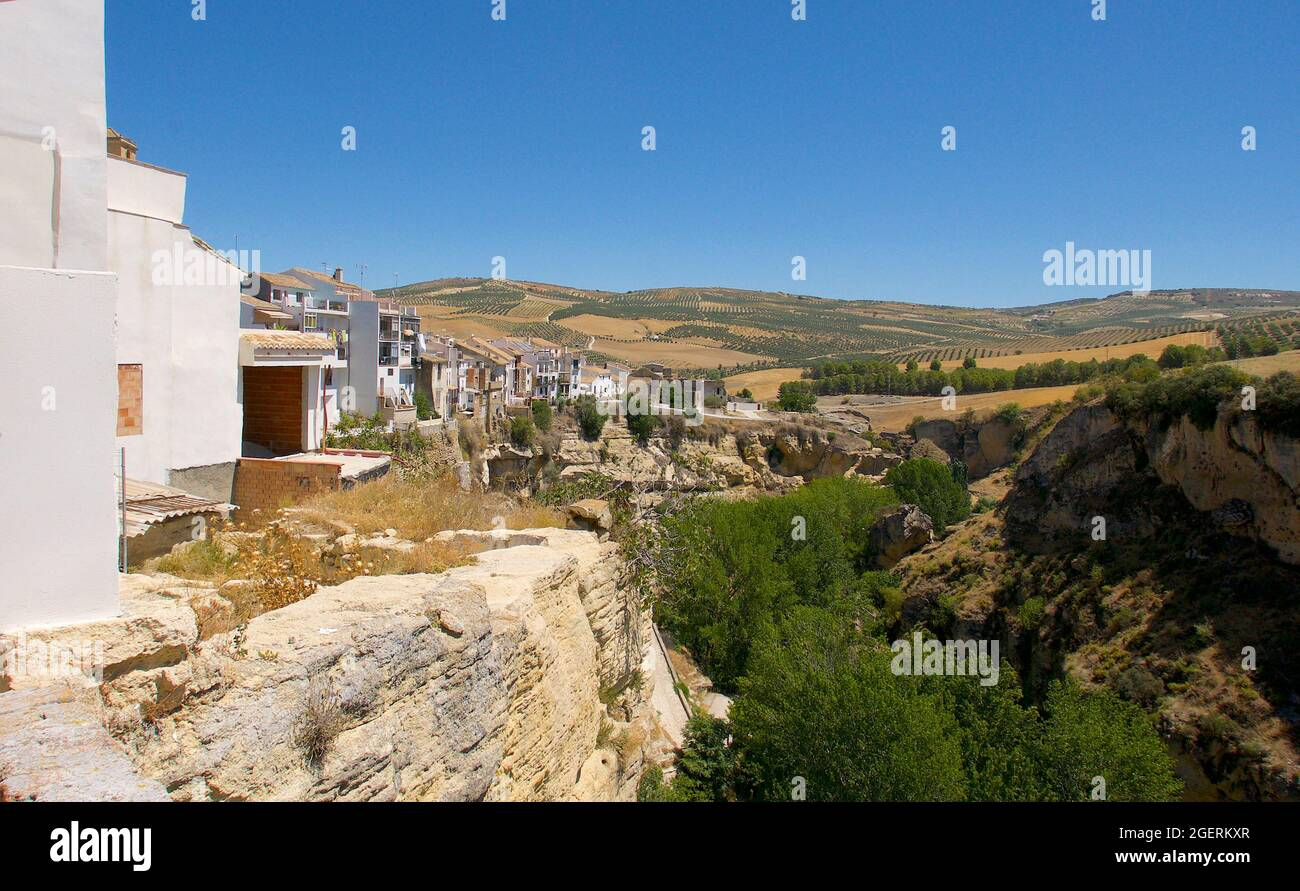 Alhama de Granada  Southern Spain Stock Photo