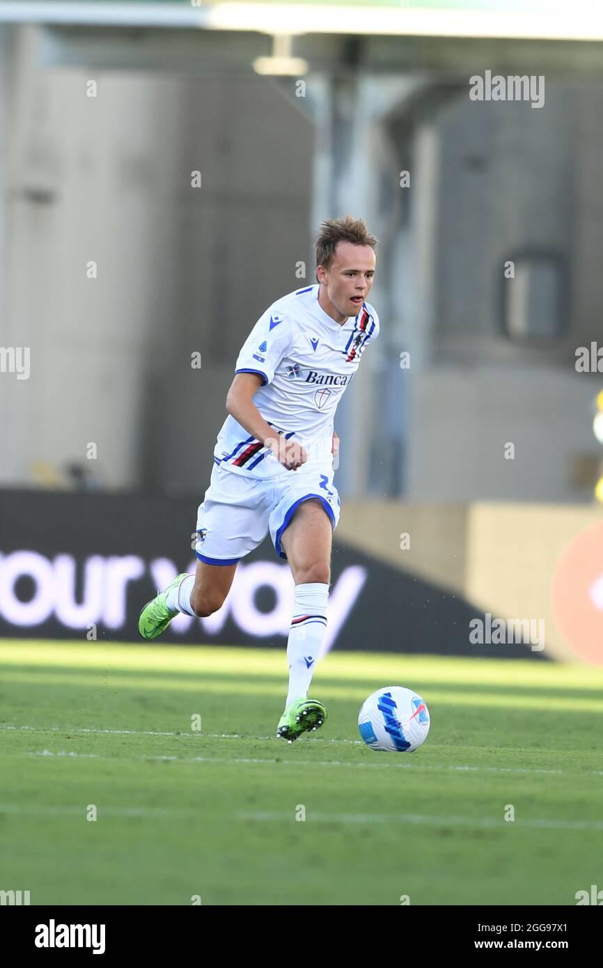 Mikkel Damsgaard (Sampdoria) during the Italian