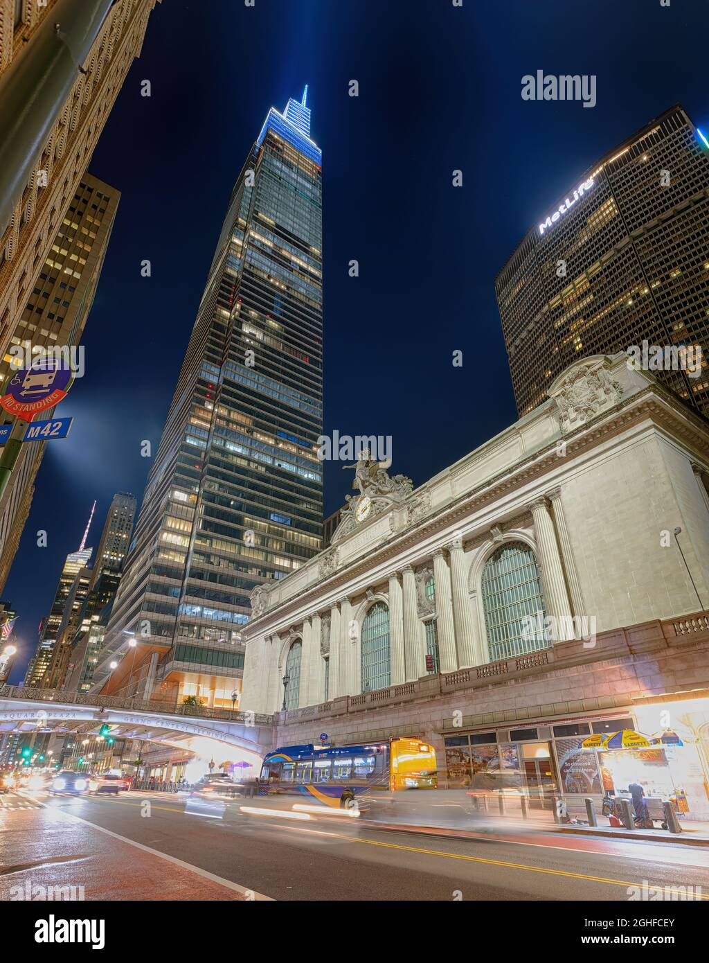 Pan Am Building Grand Central High Resolution Stock Photography ...