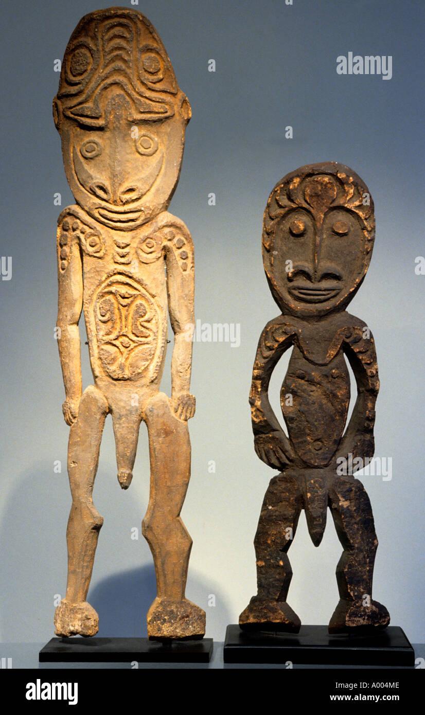 Indonesia Papua New Guinea sorcery witchcraft magic - Stock Image