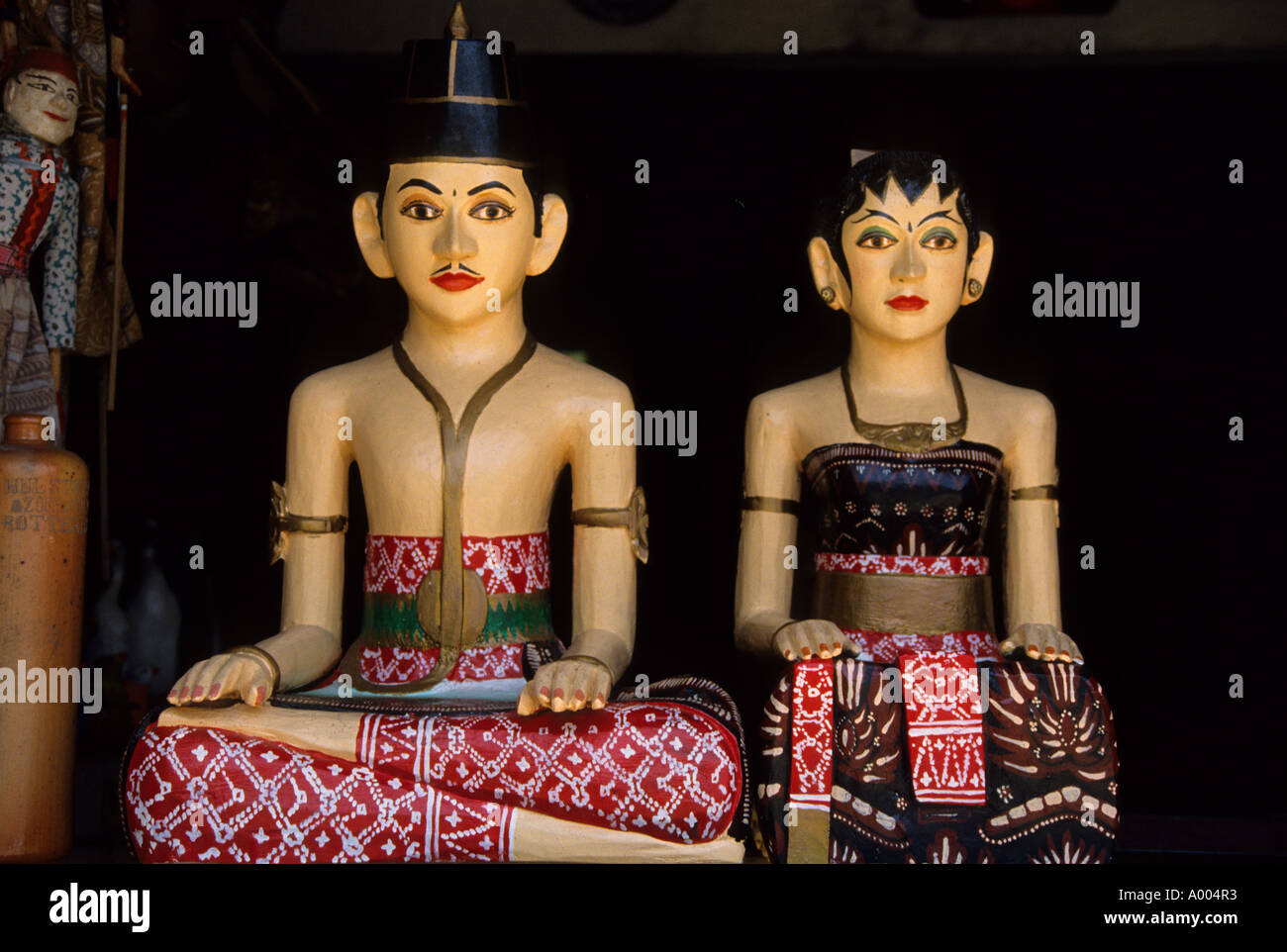 Indonesia Bali Man WomanI ndonesia Indonesian culture Bali Mask Stock Photo: 5620594  Alamy