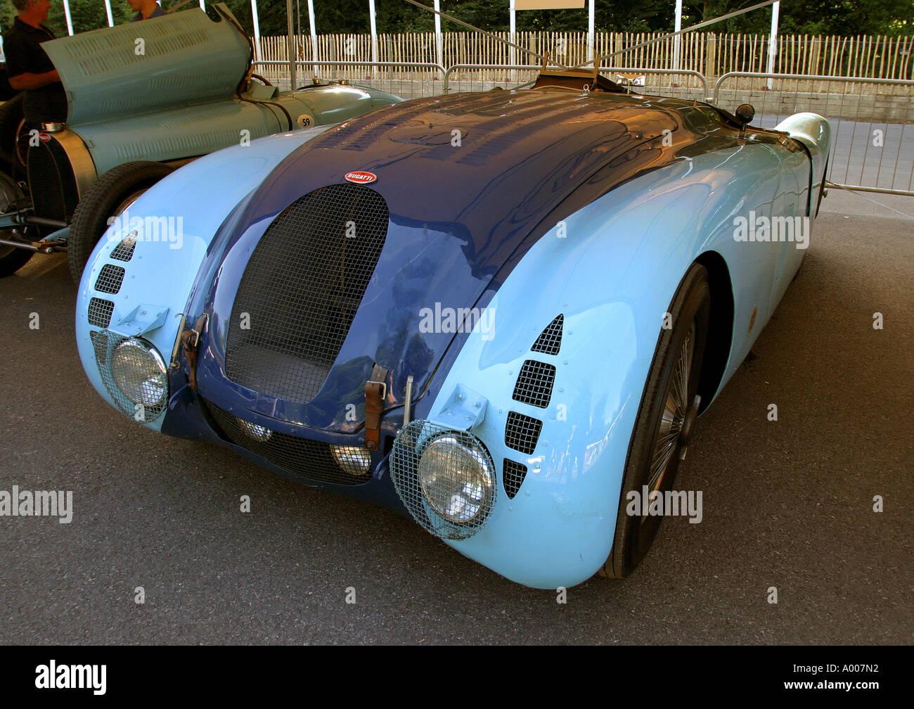 1936 Bugatti Type 57G Tank at Goodwood Festival of Speed Stock Photo: 5621137 - Alamy