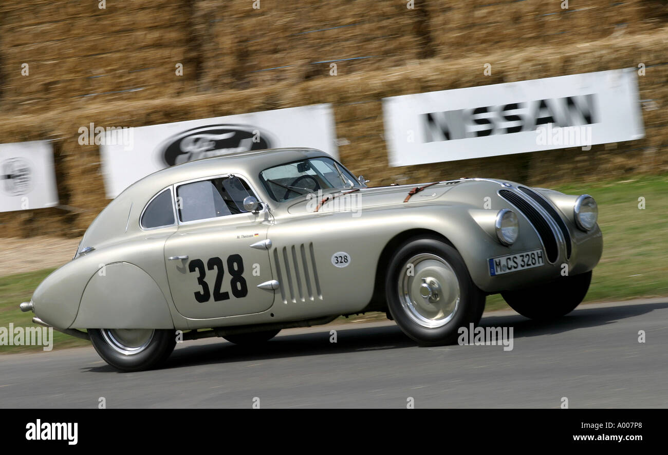 1939 BMW 328 Touring Coupe at the 2005 Goodwood Festival of Speed ...