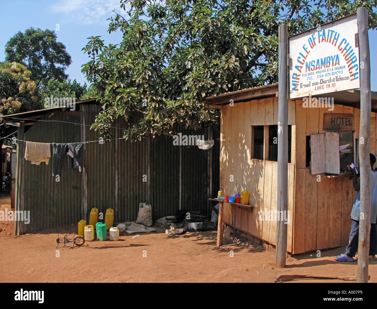 Miracle of Faith Church at Nsambya, Kampala, Uganda - Stock Image