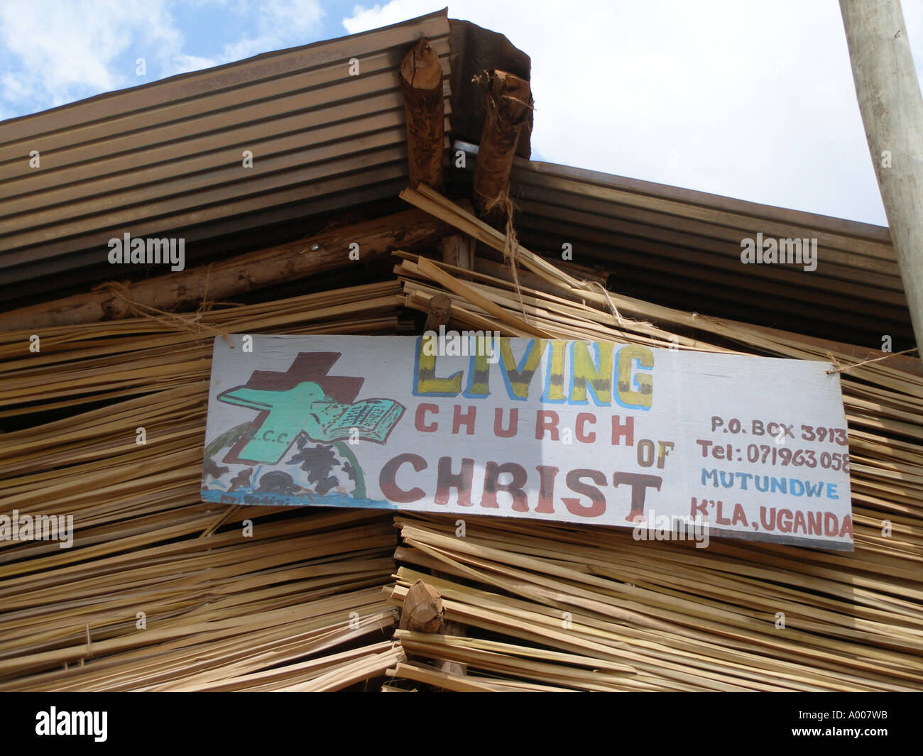 Living Church of Christ, Pentecostal church in Kampala suburb, Uganda - Stock Image