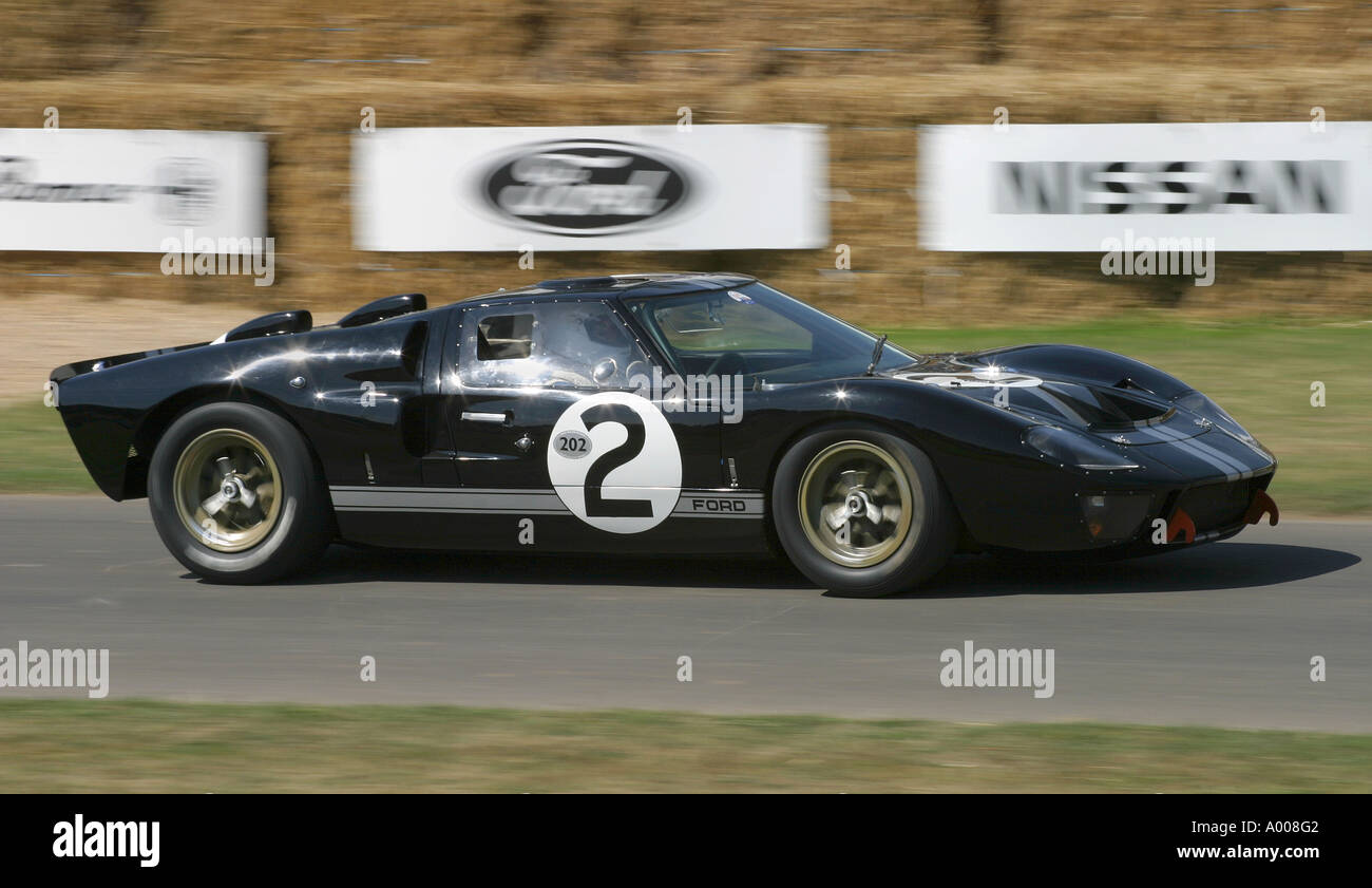 Ford Gt Mk Ll Gt At Goodwood Festival Of Speed Sus Uk