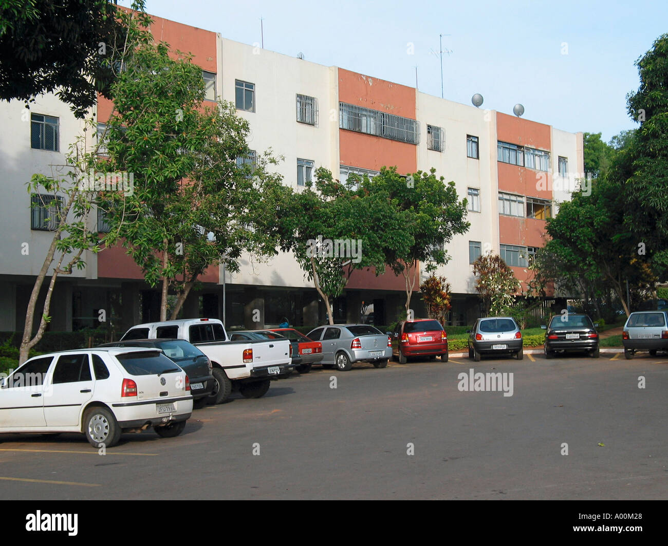 Residential Apartments Building 409 South - Stock Image