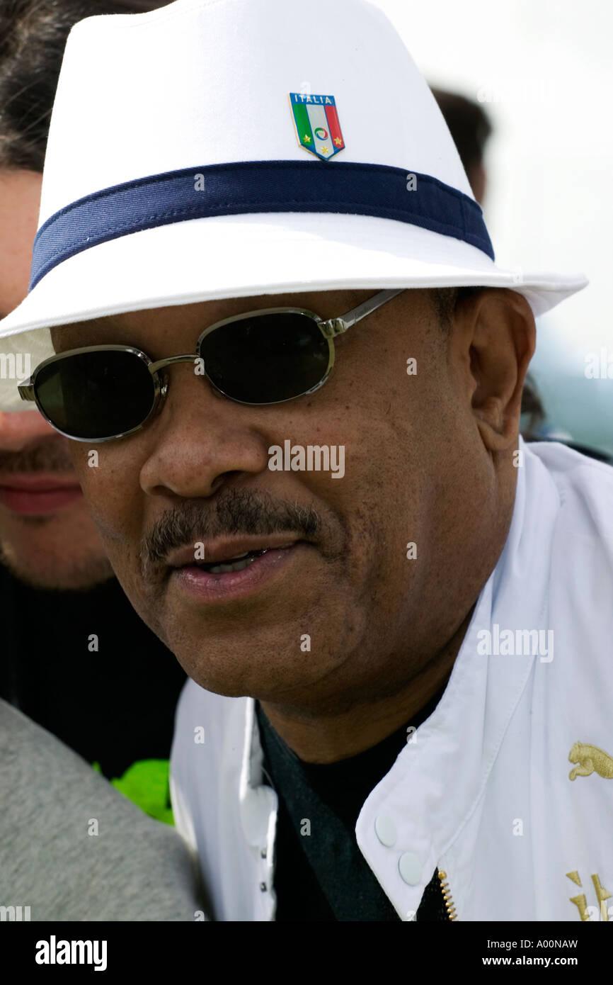 Jazz musician Roy Ayers, Godfather of Acid Jazz - Stock Image