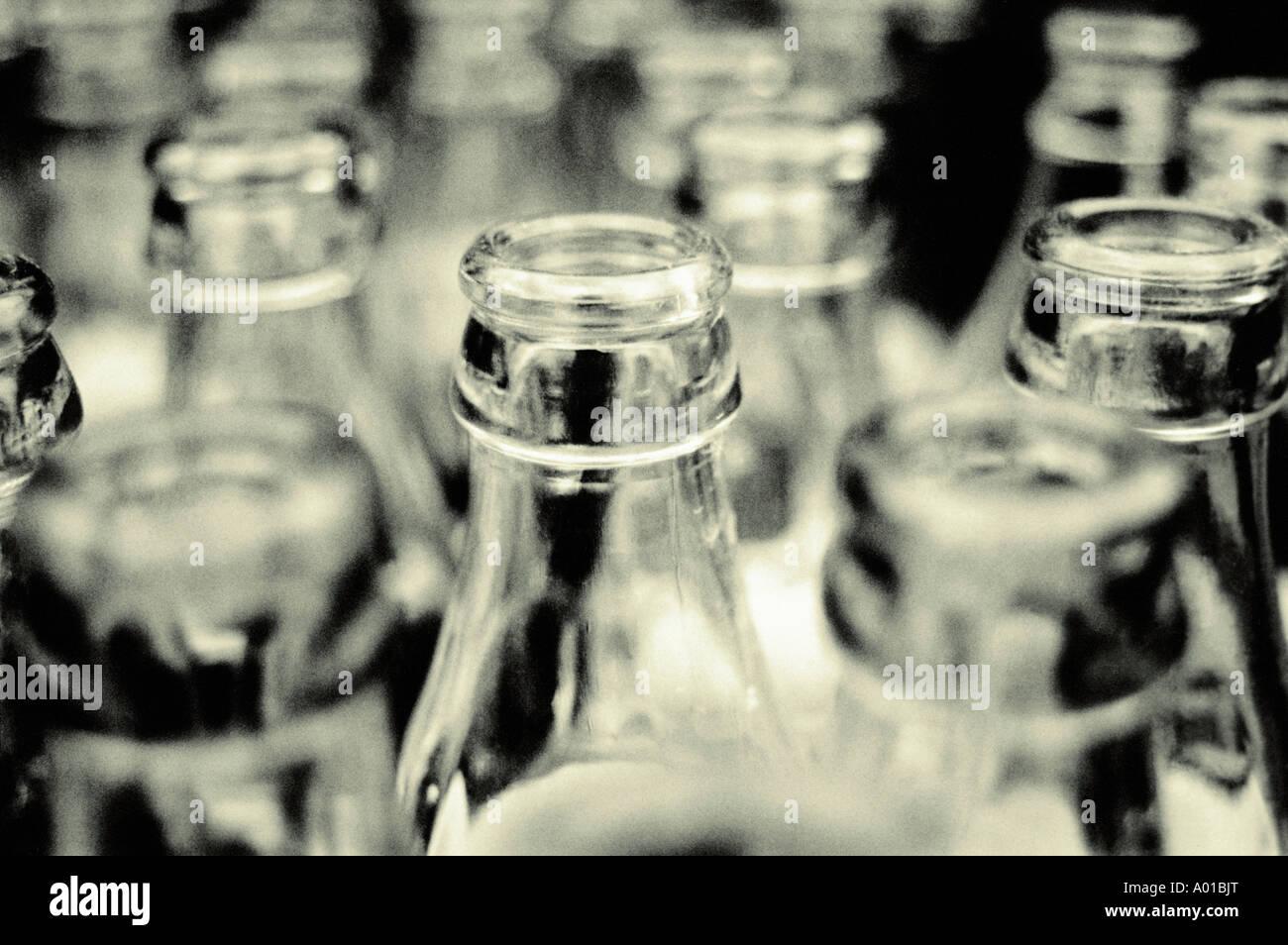 Bottles tops - Stock Image
