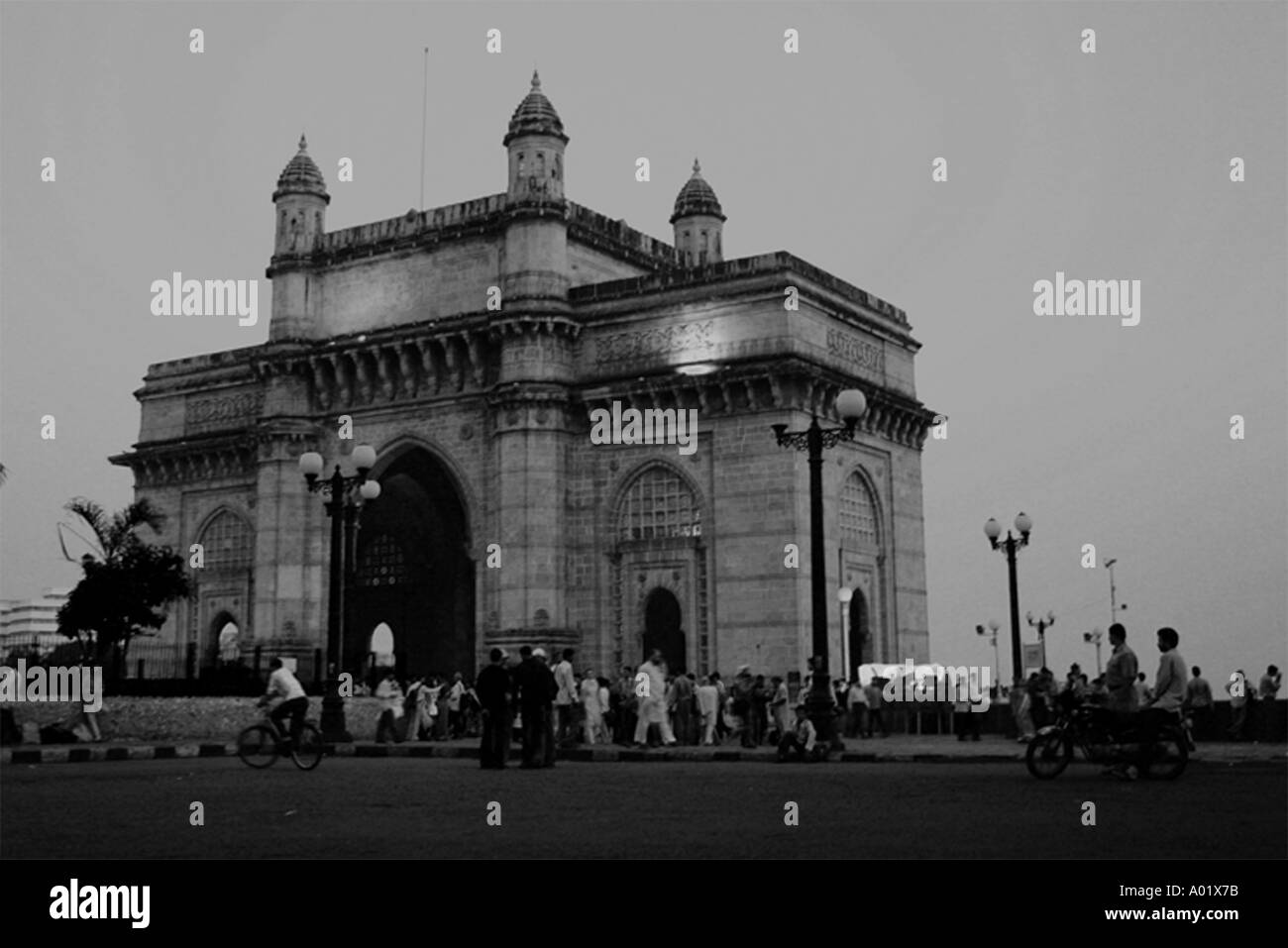 Gateway of India in the evening Bombay now Mumbai Maharastra India - Stock Image