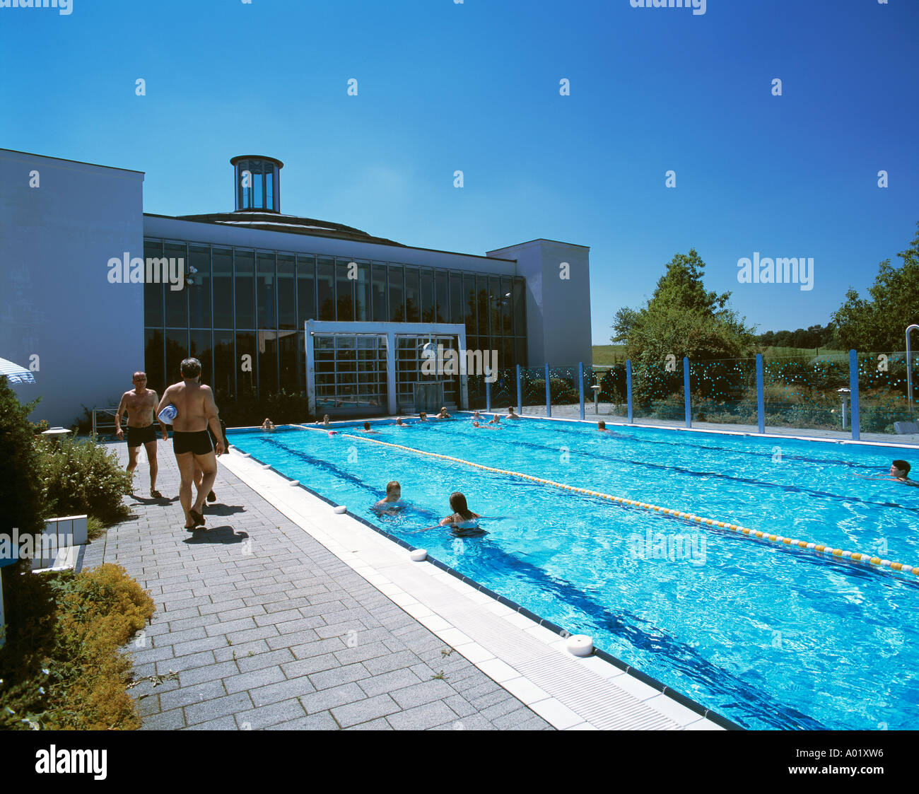 D Bad Abbach Danube Bavaria Kaiser Therme Thermal Baths Open