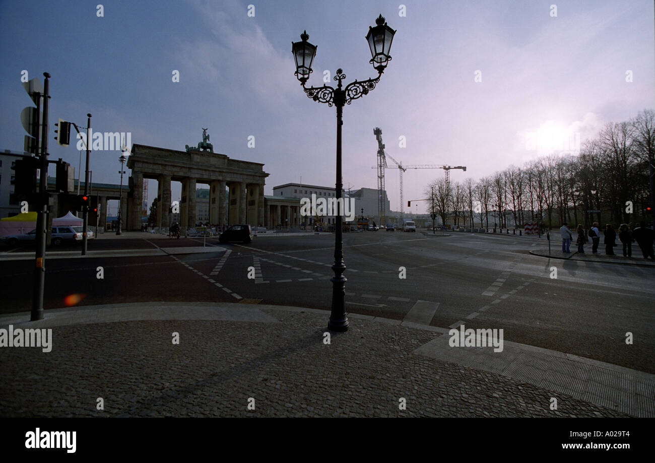 BERLIN THE CAPITAL OF GERMANY COPYRIGHT PHOTOGRAPH BY BRIAN HARRIS 2005 07808 579804 - Stock Image