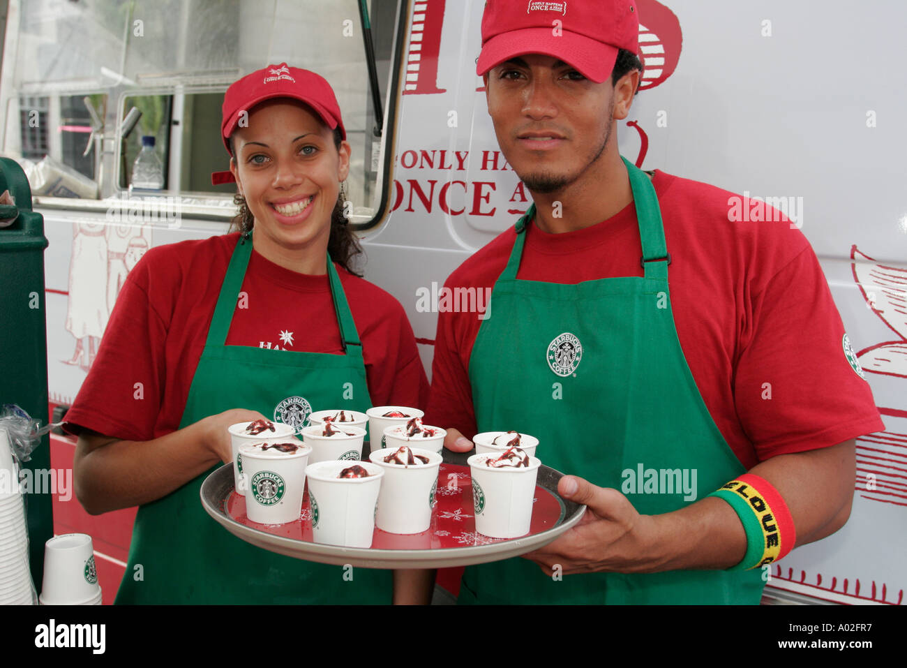 Starbucks free samples