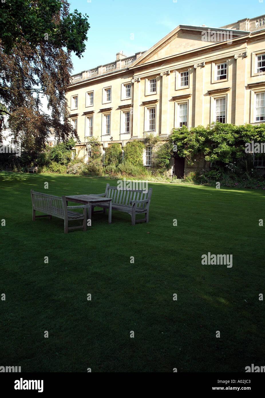 Corpus Christi Fellows Garden - Stock Image