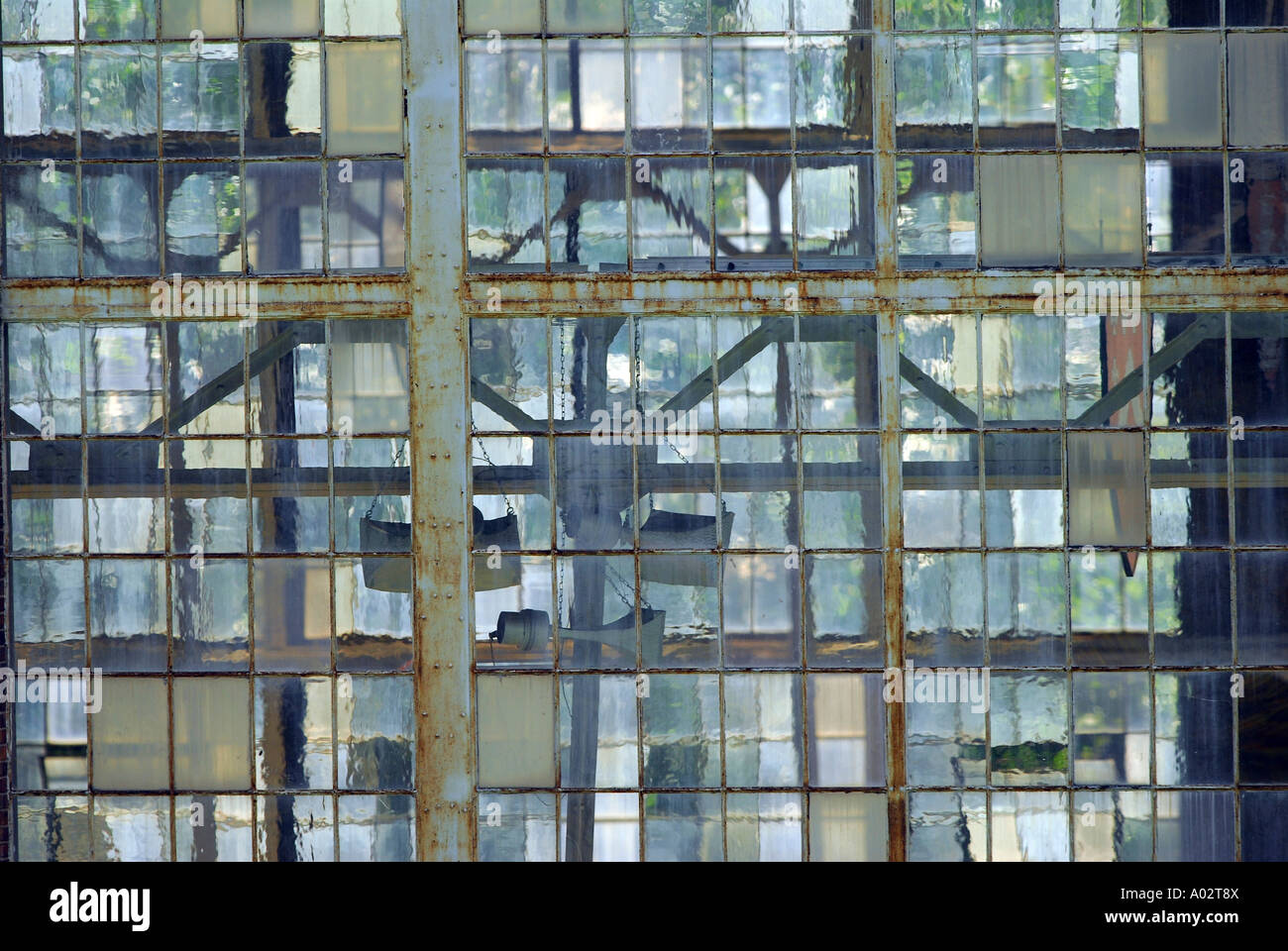 Abstract Industrial Window Panes Stock Photos & Abstract Industrial ...