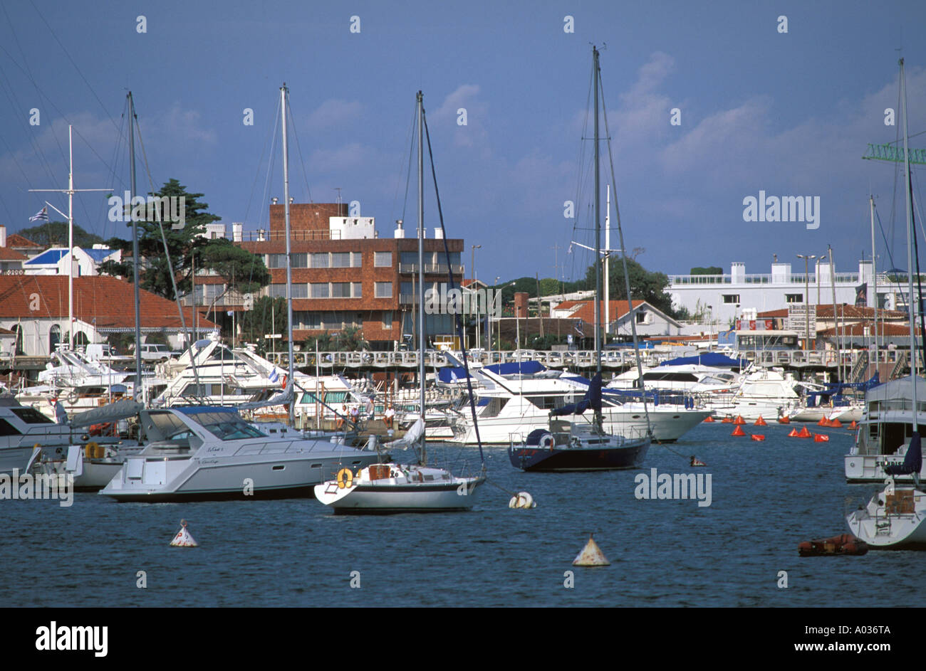 Uruguay Punta Del Este yachts sailboats playground for rich