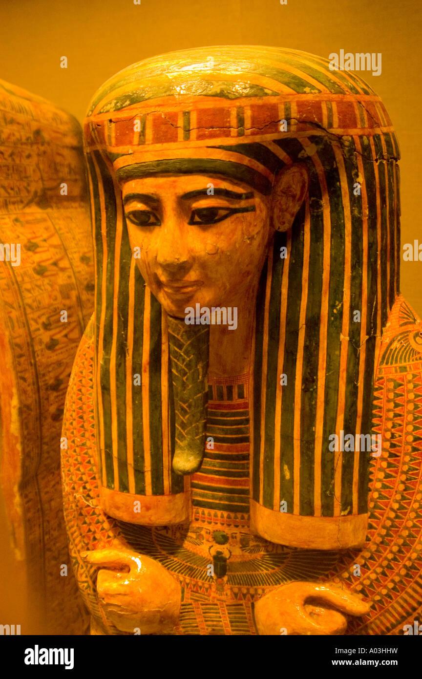 New York City New York Metropolitan Museum Egyptiana collection - Stock Image