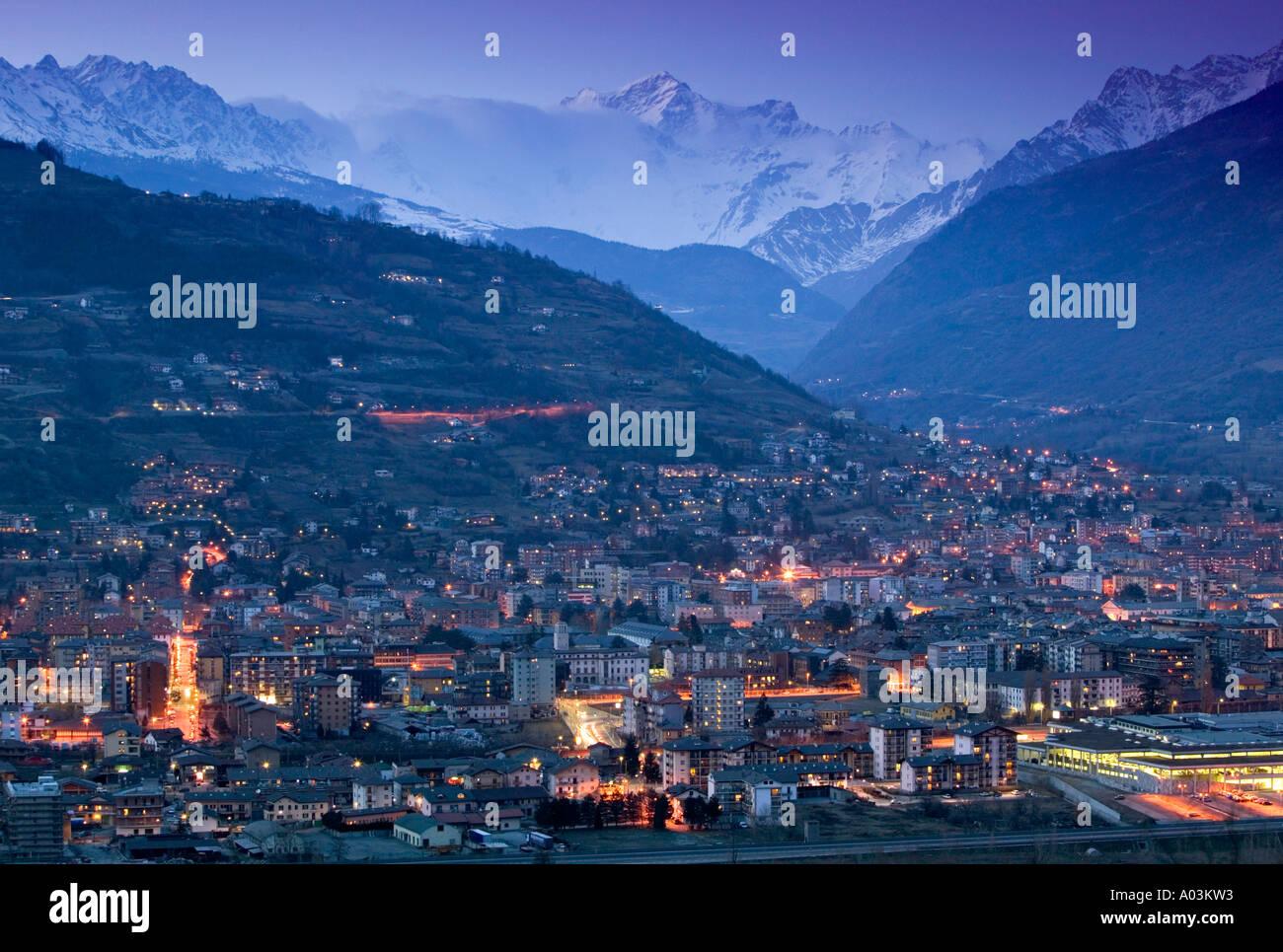 Aosta, Valle d'Aosta, Italy - Stock Image