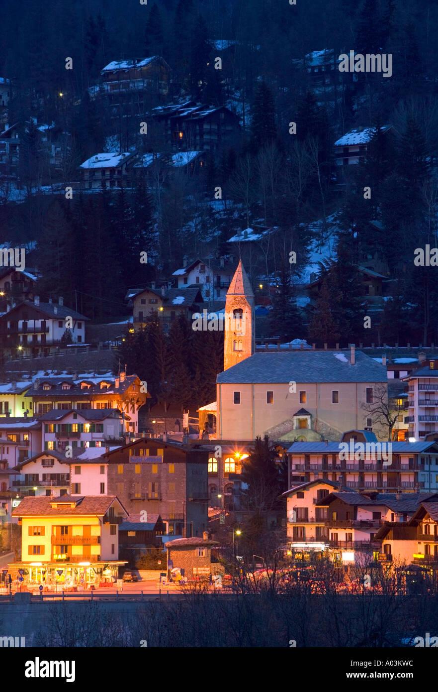 Courmayeur, Valle d'Aosta, Italy - Stock Image
