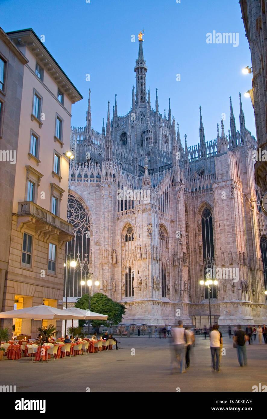 Duomo, Milan, Lombardy, Italy - Stock Image
