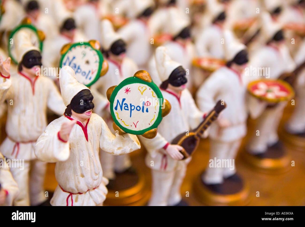 Miniature Figurines, Naples, Campania, Italy - Stock Image