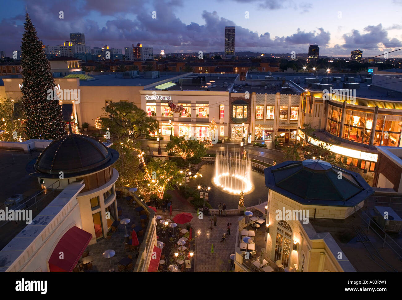 The Grove Mall West Hollywood Los Angeles California Usa Stock Photo 5640400 Alamy