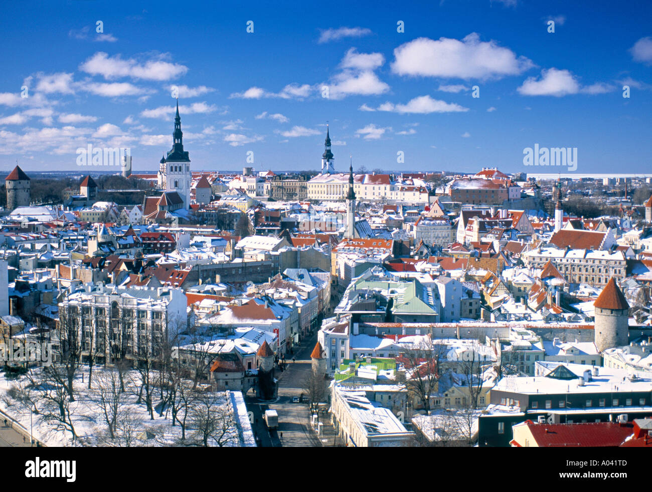 Tallinn, Estonia - Stock Image