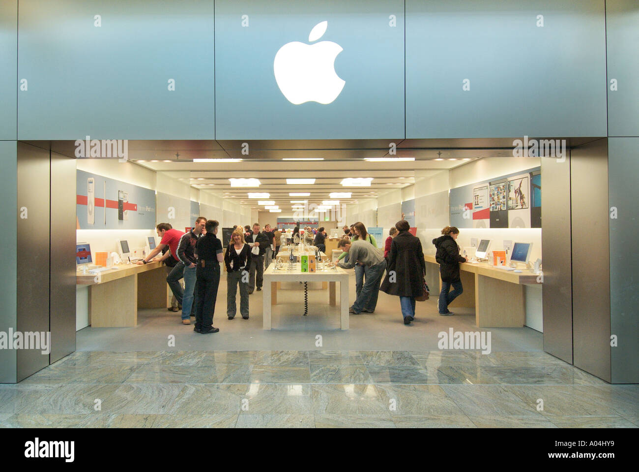 Apple Shop store Trafford centre UK United Kingdom England Europe GB