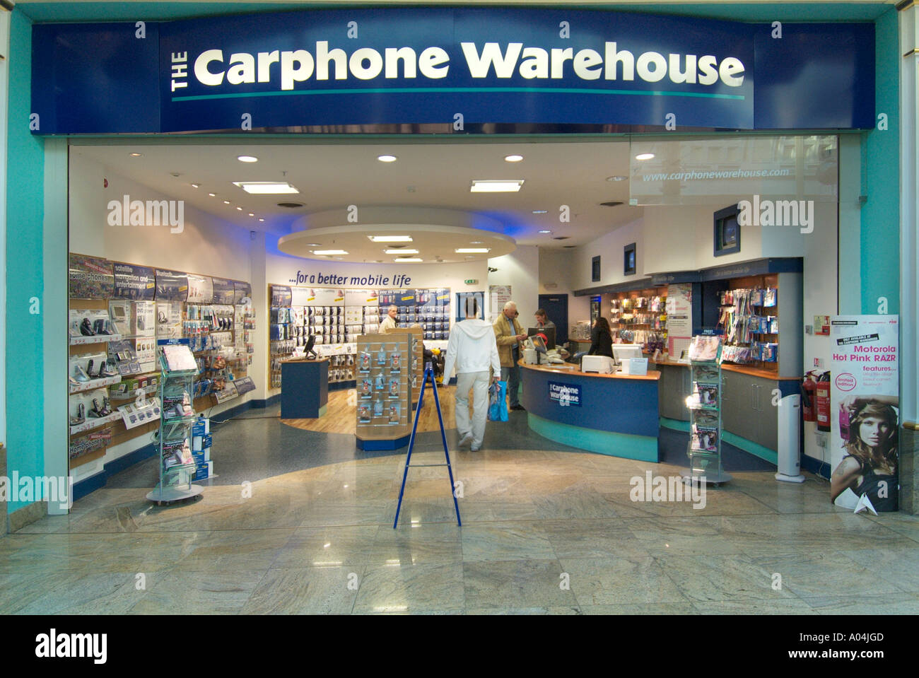 ae769a8dcd2 Carphone Warehouse store shop Trafford centre UK United Kingdom England  Europe GB Great Britain EU European