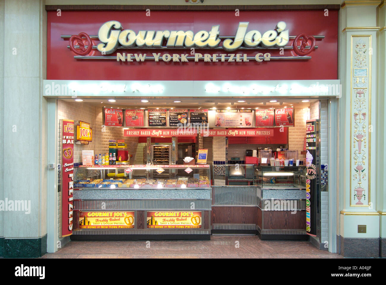 b994d529480 Gourmet Joe s joe fast food outlet Trafford centre UK United Kingdom  England Europe GB Great Britain