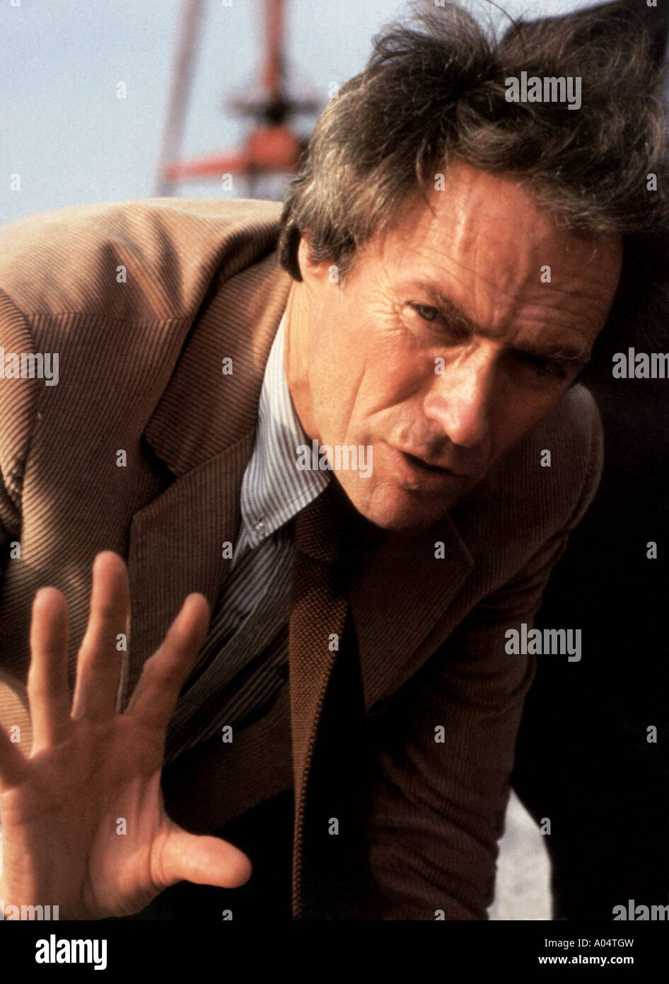 TIGHTROPE 1984 Warner film with Clint Eastwood - Stock Image
