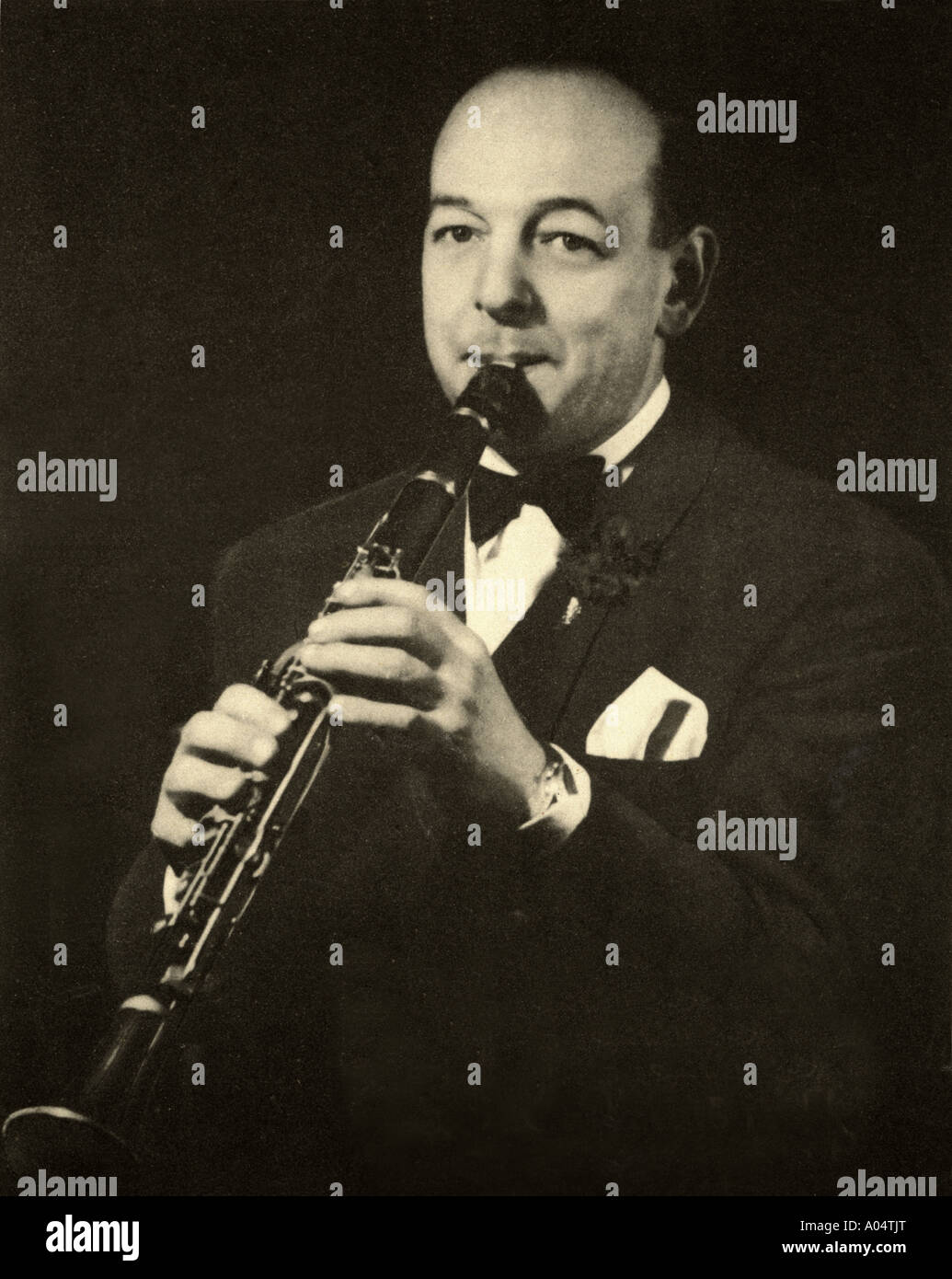 SID PHILLIPS UK jazz musician and composer 1907 to 1973 - Stock Image
