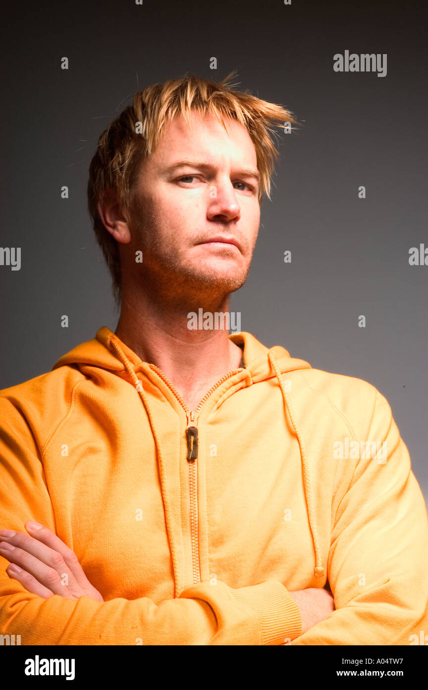 Portrait of a man. - Stock Image