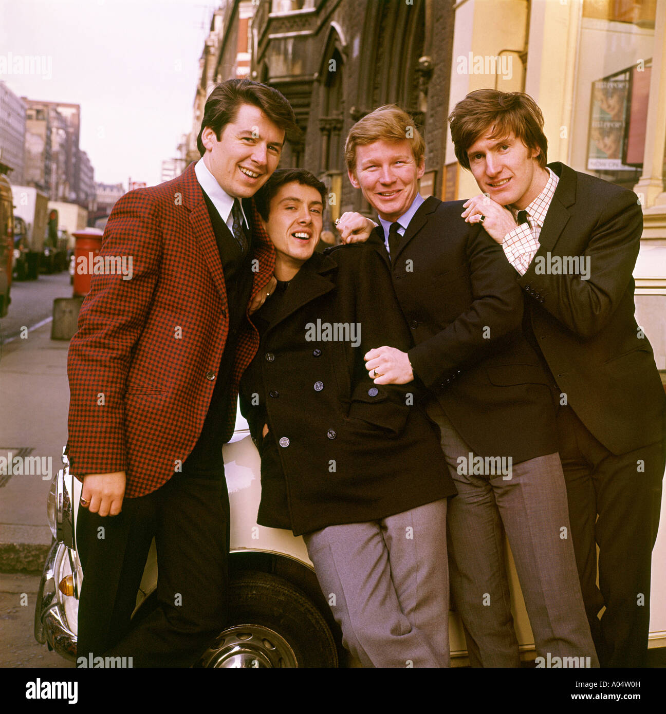 SEARCHERS UK pop group in 1965. See Description below for details. Photo Tony Gale - Stock Image
